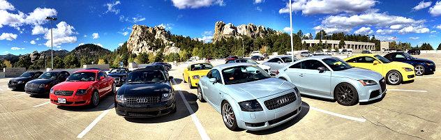 TT West 2016 at Mount Rushmore National Memorial
