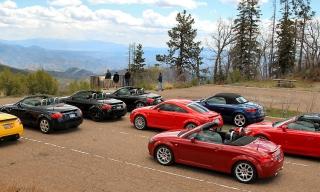 TT West 2015 at Coronado Trail Overlook