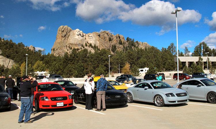 TT West 2016 at the Mount Rushmore National Memorial